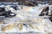 Mistbow and Ice at Great Falls #2